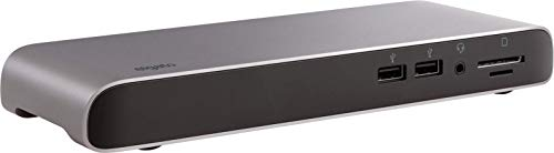 Elgato Thunderbolt 3 Pro Dock, mit 70 cm Kabel, 2X Thunderbolt 3 (USB-C), 4X USB, SD/Mi-crosd-Kartenleser (UHS-II), Audio-EIN-/Ausgang