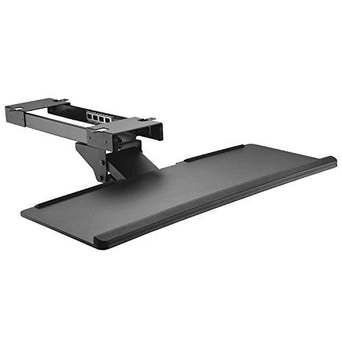 Maclean MC-757 Tastatur und Maus Halterung Zulage für Schreibtisch 67cm Oberfläche